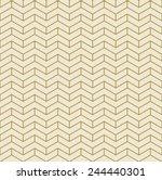 gold chevron pattern of divided ... | Shutterstock .eps vector #244440301