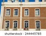 lisbon   january 10th  the...   Shutterstock . vector #244445785