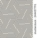 vector seamless pattern. modern ... | Shutterstock .eps vector #244457791