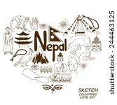 Sketch Collection Of Nepal...