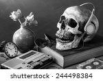 Still Life Photography   Skull...