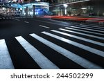 the road in the city | Shutterstock . vector #244502299