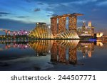 Building In Singapore.