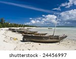 Fishing Boats On Beach Norther...