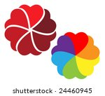 colorful abstract design made... | Shutterstock .eps vector #24460945