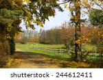 wonderful countryside mountains ... | Shutterstock . vector #244612411