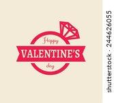 vector happy valentines day...
