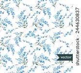 new  popular  like flowers | Shutterstock .eps vector #244630837