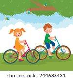stock cartoon illustration of... | Shutterstock .eps vector #244688431