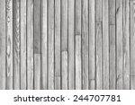 gray wood plank vertical... | Shutterstock . vector #244707781
