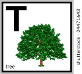 vector illustration of tree and ... | Shutterstock .eps vector #24471643