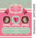 cute vector elements 2 | Shutterstock .eps vector #244723495