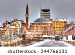banya bashi mosque in sofia  ... | Shutterstock . vector #244766131