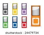 mp3 player | Shutterstock .eps vector #24479734