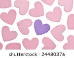 valentine's day foam hearts... | Shutterstock . vector #24480376