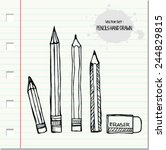 Collection Of Pencils.sketch...