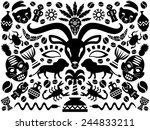 Abstract African Tribal...