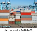 port of algeciras | Shutterstock . vector #24484402