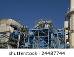 close up of a power plant... | Shutterstock . vector #24487744