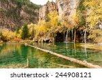 Hanging Lake  Amidst Autum...