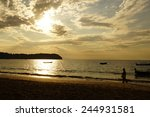 beach resort holiday  myanmar | Shutterstock . vector #244931581