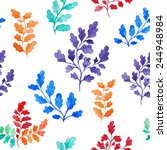 vector seamless pattern of... | Shutterstock .eps vector #244948984