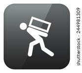 weight. vector. | Shutterstock .eps vector #244981309