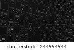 stock display panel with random ... | Shutterstock . vector #244994944