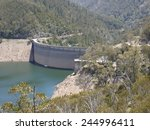 Tumut Pond Dam In The Snowy...