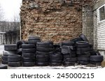 Old Used Tires Stocked For...