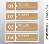 the vector work  abstract... | Shutterstock .eps vector #245000719