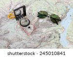 Compass And Pilot Sunglasses On ...