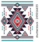 Navajo Aztec Big Pattern Vecto...