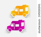 realistic design element ... | Shutterstock . vector #245030341