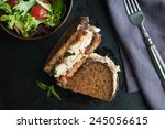 Grilled Gruyere Sandwich With...