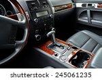 car interior | Shutterstock . vector #245061235