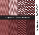 Marsala Color Chevron Patterns...