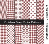 Marsala Color Fashion Prints...