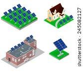 a vector illustration of... | Shutterstock .eps vector #245082127