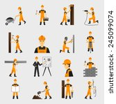Construction Worker Character...