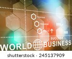 digital background image... | Shutterstock . vector #245137909