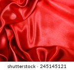 Smooth Elegant Red Silk Can Us...