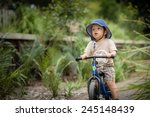 cute 2 year old mixed race... | Shutterstock . vector #245148439