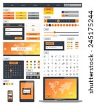 ui kit responsive web design....