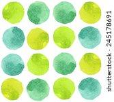 watercolor seamless pattern | Shutterstock .eps vector #245178691