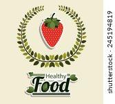 food design over beige... | Shutterstock .eps vector #245194819