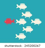 think different design  vector... | Shutterstock .eps vector #245200267