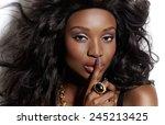 closeup of a beautiful... | Shutterstock . vector #245213425