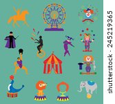 circus.3 circus  vector.... | Shutterstock .eps vector #245219365