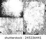 three different old distressed  ... | Shutterstock .eps vector #245236441